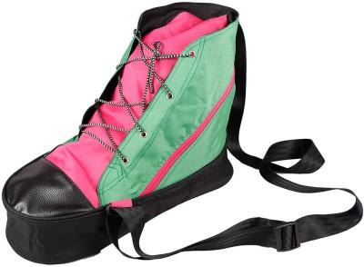 Zwart Men, Women Casual Green, Pink Polyester Sling Bag