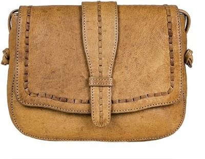 Goatter Girls, Women Multicolor Genuine Leather Sling Bag