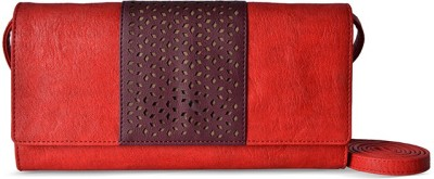 Baggit Women Red Rexine Sling Bag