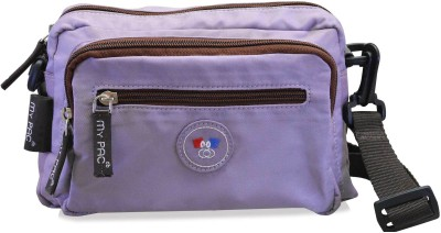 My Pac Db Women Purple Polyester Sling Bag