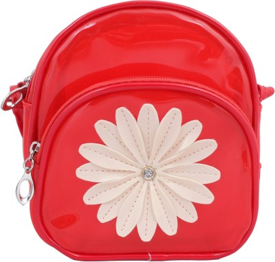 Super Drool Women, Girls Red PU Sling Bag
