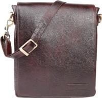 Armaan Leather Men Brown Genuine Leather Sling Bag