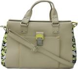 Zaera Women Formal Beige PU Sling Bag