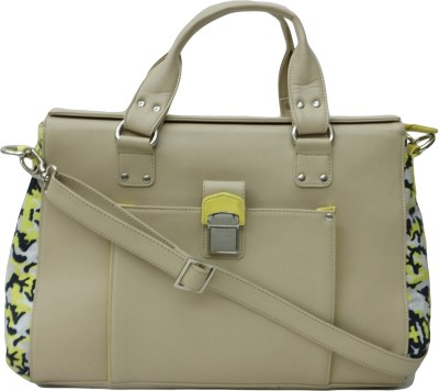 Zaera Women Casual Beige PU Sling Bag