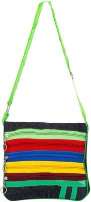 Bigzee Girls, Women Multicolor Canvas Sling Bag