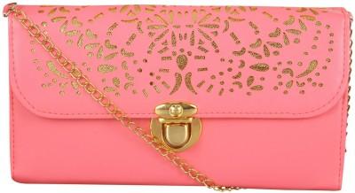 NXT GEN Girls Pink Leatherette Sling Bag