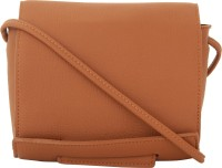Alvaro Castagnino Women Brown PU Sling Bag