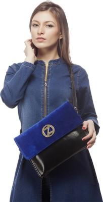 Osaiz Girls, Women Evening/Party, Casual, Formal Black PU Sling Bag