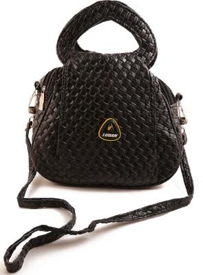 Chalissa Women, Girls Black Rexine Sling Bag
