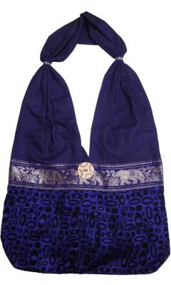 CraftCor Girls, Women Purple Cotton Shoulder Bag