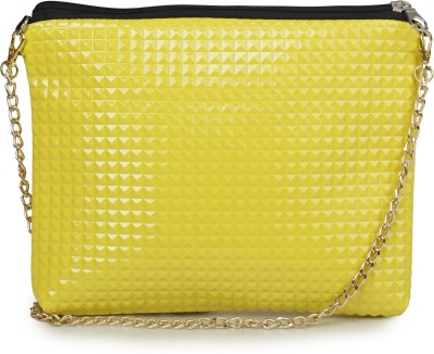 Unixx Girls Casual Yellow PU Sling Bag