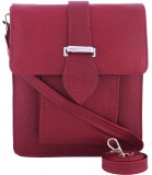 Fristo Women Maroon PU Sling Bag