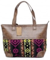 TWINOLOGY Women Multicolor Genuine Leather Hand-held Bag