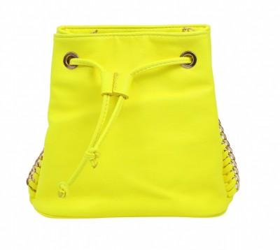 Celladorr Girls, Women Casual, Evening/Party Yellow PU Sling Bag