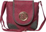 Pentafive Women Purple Leatherette Sling...