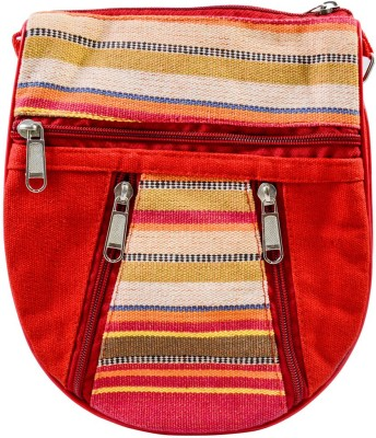 Mpkart Girls Casual Red Juco Sling Bag