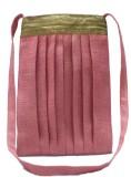 Kosha Women Casual Pink Jute Sling Bag