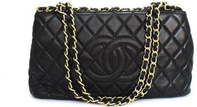 Zaira diamond Women Black Genuine Leather Sling Bag