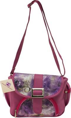 Fashion Knockout Girls, Women Pink PU Sling Bag