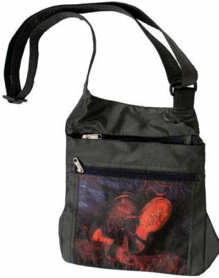 The Museum Outlet Girls Multicolor Canvas Sling Bag