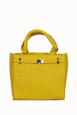 Urban Stitch Women, Girls Yellow Leatherette Sling Bag