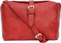 Joker & Witch Women Red PU Sling Bag