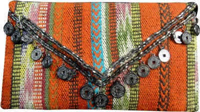 Praniti Girls Multicolor Cotton Sling Bag