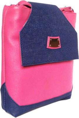 WEEBILL Girls Pink PU Sling Bag