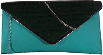 MIRAC Girls Blue, Green PU Sling Bag