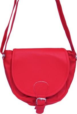 zasmina Girls Pink PU, Leatherette Sling Bag