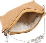 Dooda Women Beige Leatherette Sling Bag