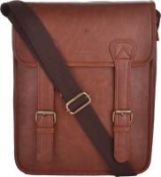 LAWMAN PG3 Men Brown PU Sling Bag