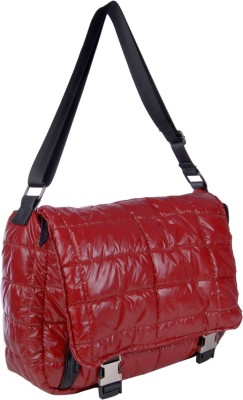 Just Women Girls Casual Red PU Sling Bag
