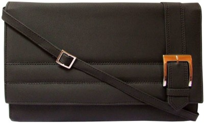 MTE Women Casual Black PU Sling Bag