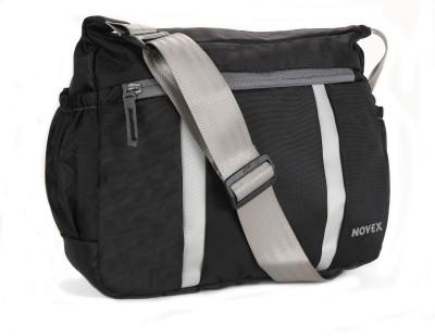 Novex Boys, Girls, Women Black Nylon Sling Bag