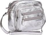 Valentino Women Casual Silver Genuine Le...