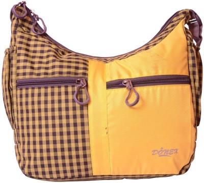 Donex Girls Multicolor Polyester Messenger Bag