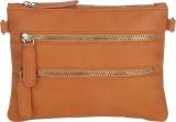 Pockit Women Orange PU Sling Bag