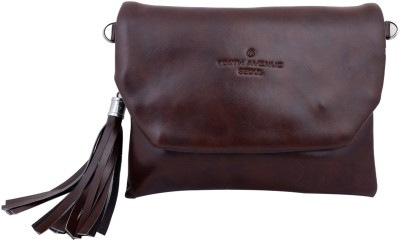 Super Drool Women, Girls Brown PU Sling Bag