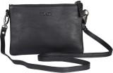Viari Women Formal Black Genuine Leather...