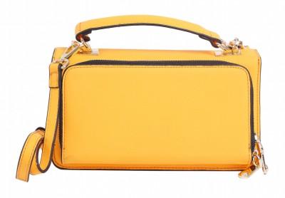 Celladorr Girls, Women Evening/Party, Casual Orange PU Sling Bag