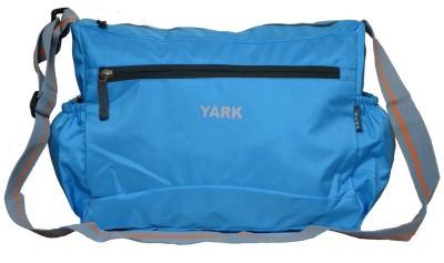 Yark Girls Casual Blue Polyester Sling Bag