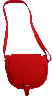 MADASH Girls Red PU Sling Bag
