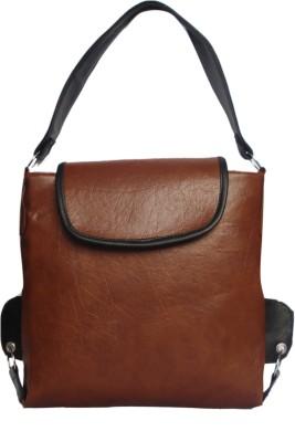 WEEBILL Women Tan PU Shoulder Bag
