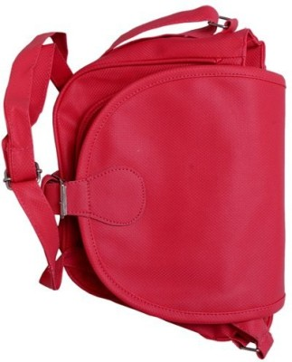 Cottage Women Red Canvas Sling Bag