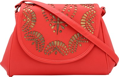 Pink Rose Women, Girls Multicolor PU Sling Bag
