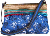 Indian Rain Women Evening/Party Blue Sil...