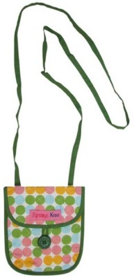 Always Kids Girls Casual, Evening/Party Multicolor Cotton Sling Bag