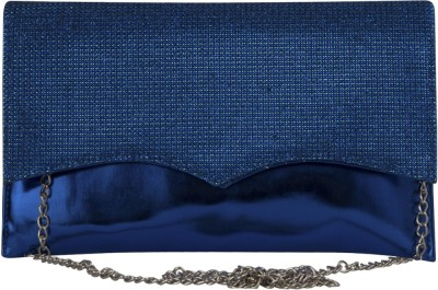 La Passo Women Blue Leatherette Sling Bag