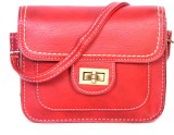 Bags Craze Women Maroon PU Sling Bag
